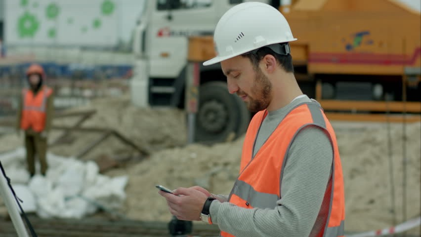 Image result for cell phone use on construction sites